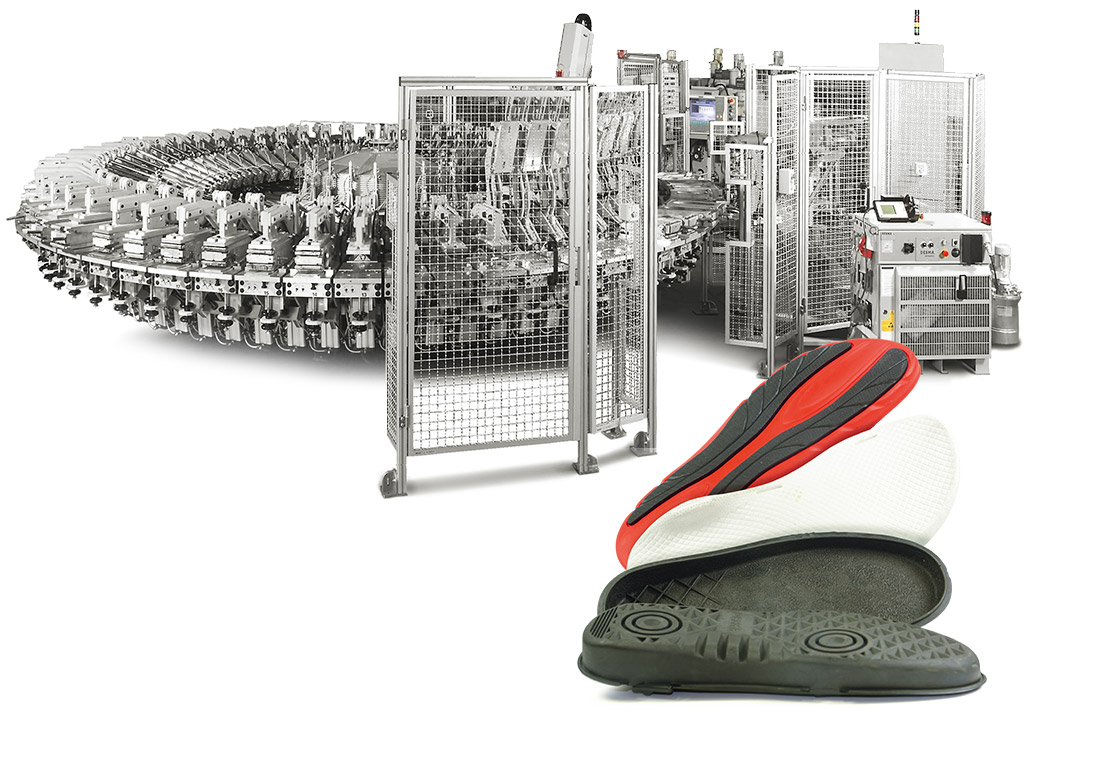Welcome to DESMA Shoe Machinery | Unit Soles