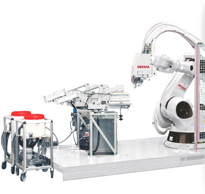 Robot-guided pouring system